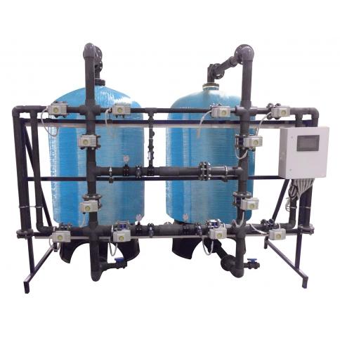 FRP Tanklı yüzey borumalı tandem yumuşatma sistemleri