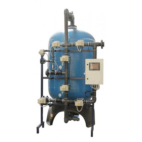 FRP Tanklı yüzey borumalı single yumuşatma sistemleri