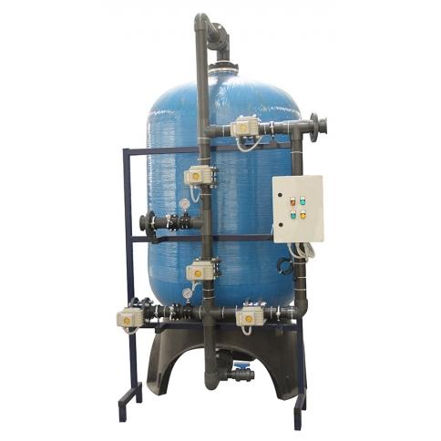 FRP Tanklı yüzey borulamalı aktif karbon filtre sistemleri