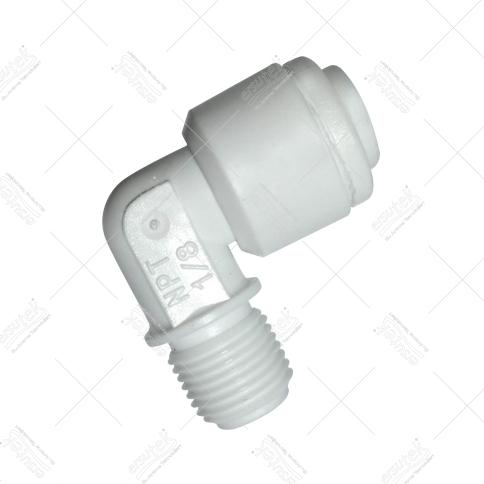 EST-1553 Çekvalf dirseği quick bağlantı 1/4